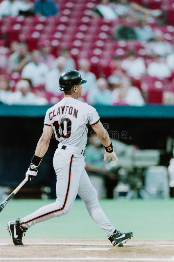 Royce Clayton, San Francisco Giants stockbilder