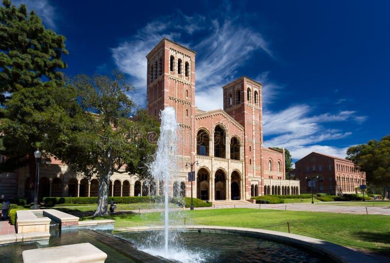 Royce Hall à l'UCLA image libre de droits