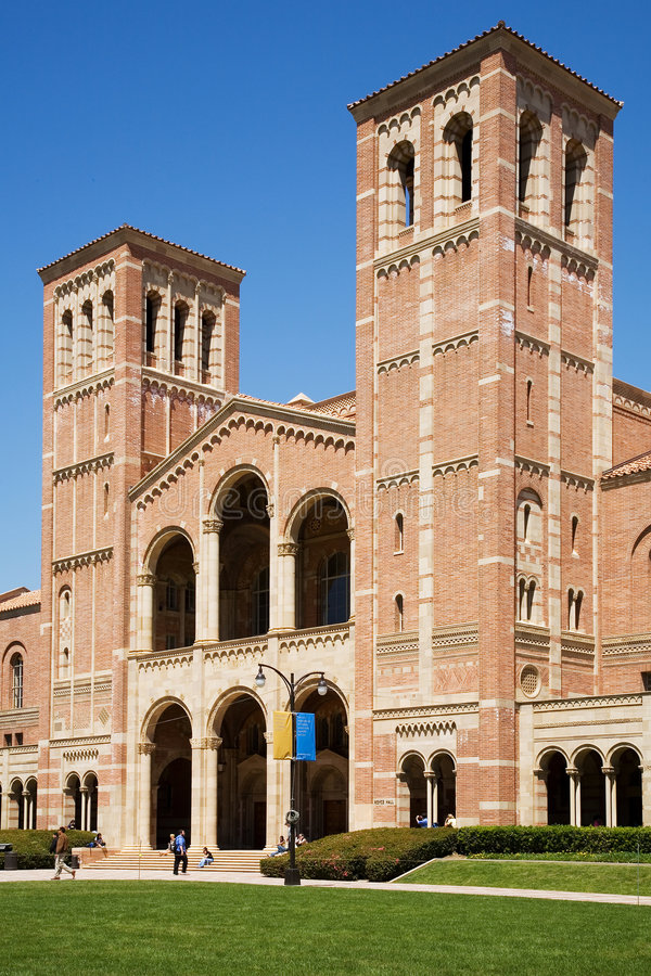 Royce Hall stockbilder