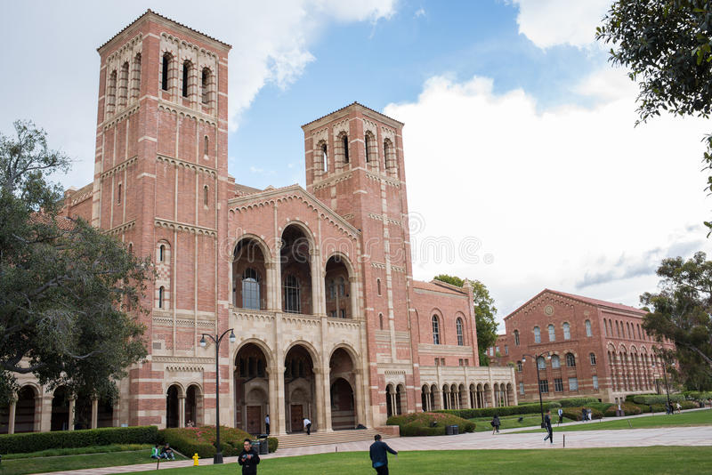 Royce Hall no terreno do UCLA fotos de stock