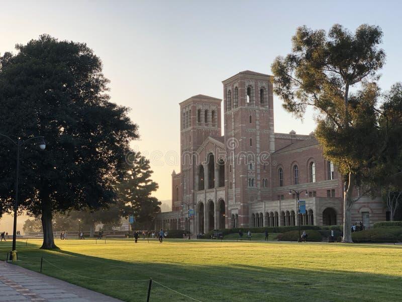 Royce Hall no terreno do University of California, Los Angeles fotografia de stock