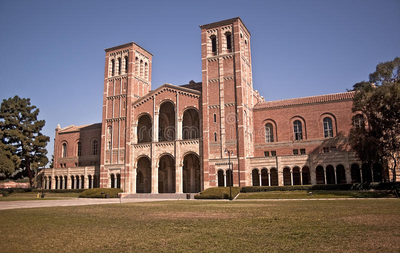 Royce Hall - UCLA stockbild