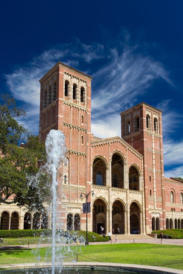 Royce Hall an UCLA stockbilder