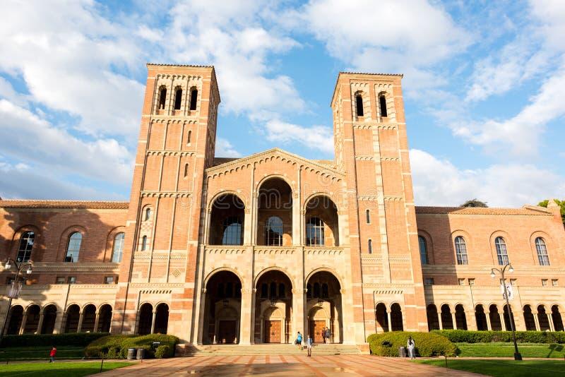 Royce Salão no UCLA imagem de stock