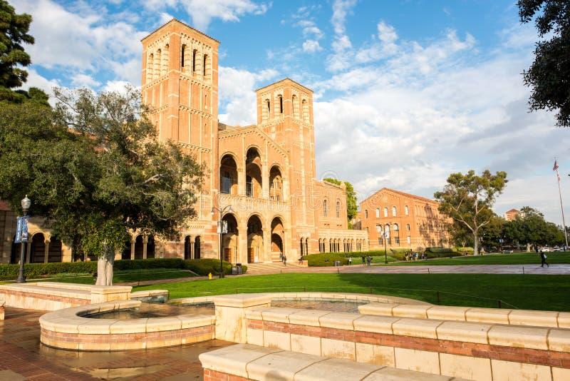Royce Salão no UCLA fotografia de stock