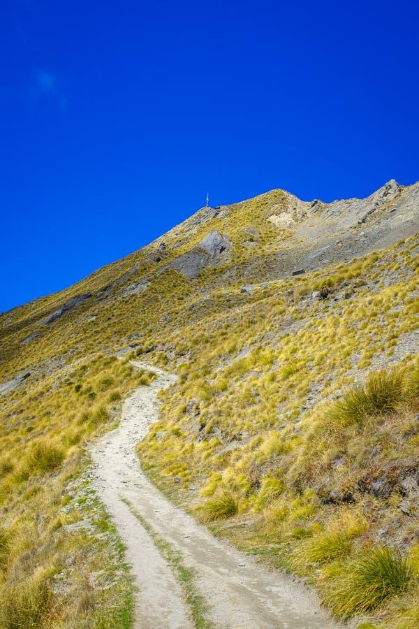 Roys szczyt blisko Wanaka zdjęcia stock