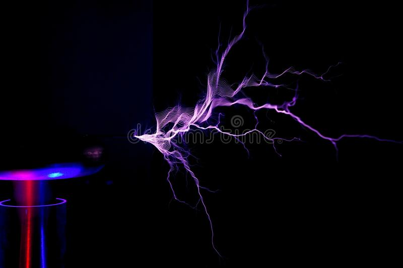 rozładowanie elektrostatyczny zdjęcia royalty free