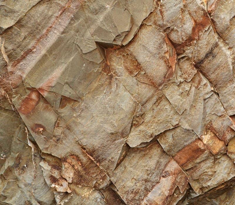Rozłupany piaskowa blok obraz stock