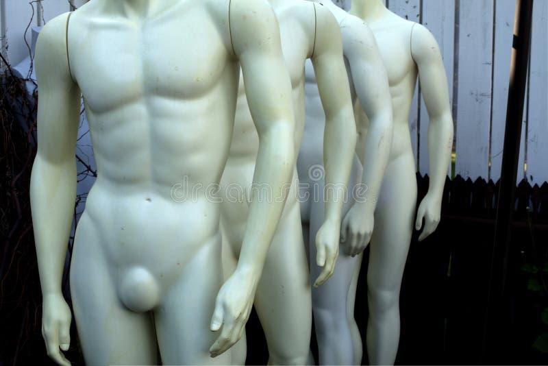 Rozbierający się mannequins zdjęcia stock