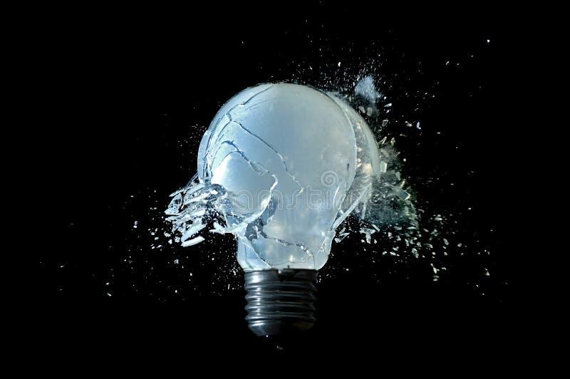 rozbita lampa obrazy royalty free