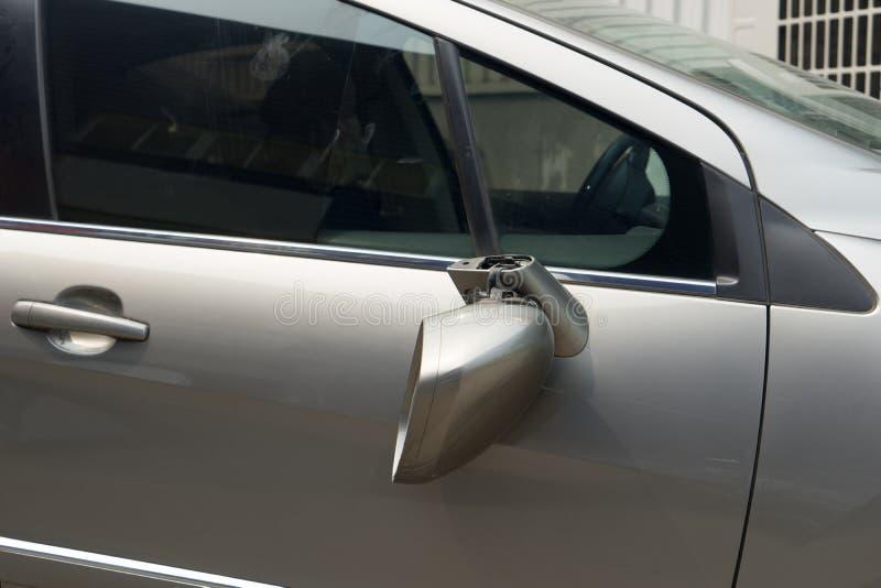 rozbity samochód fotografia stock
