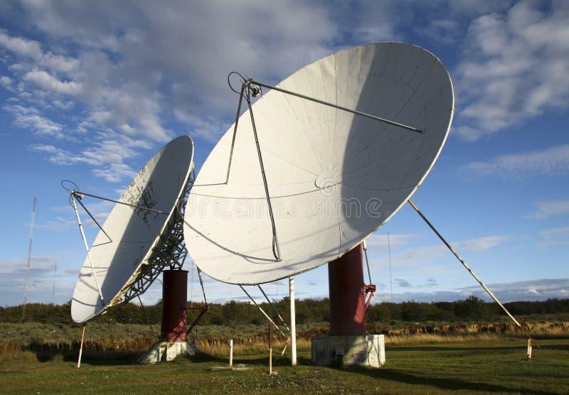 rozdaje satelitę zdjęcie royalty free