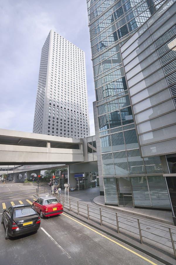 Rozdroża w środkowym Hong Kong fotografia royalty free