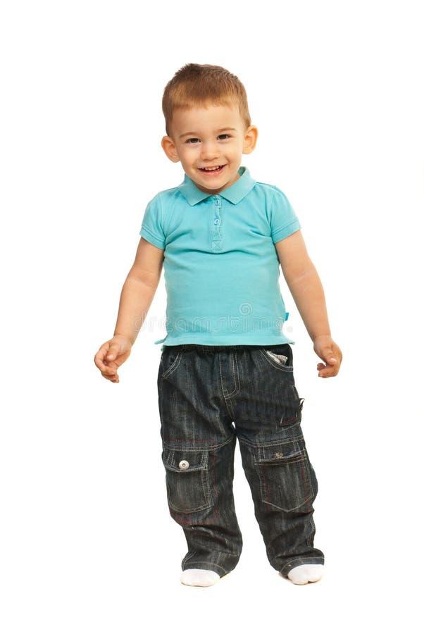 Roześmiana chłopiec zdjęcie stock