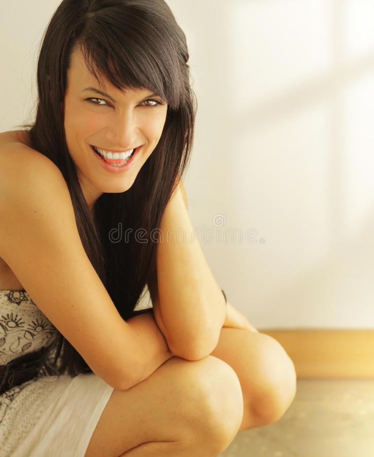 roześmiana kobieta zdjęcia royalty free