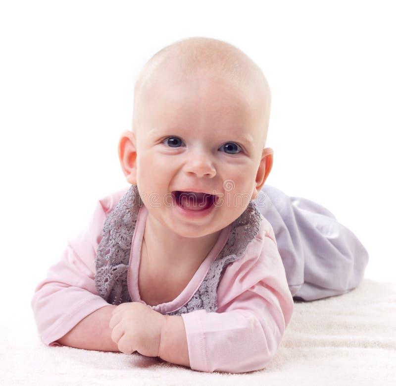 Roześmiany dziecko obraz royalty free