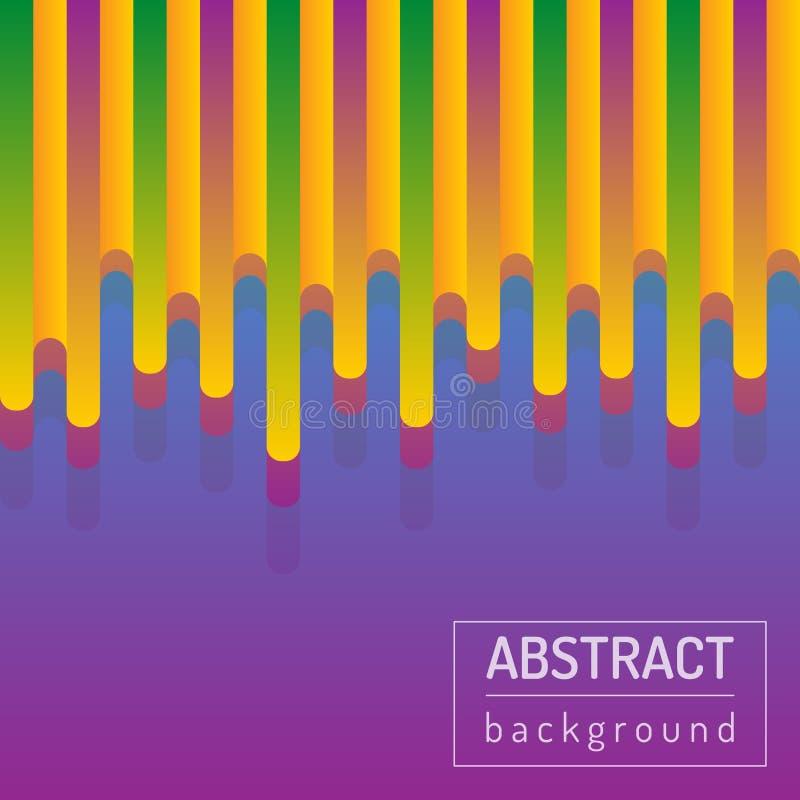 Roze abstracte achtergronden met geschilderde gelijken Vector artistieke illustratie vector illustratie