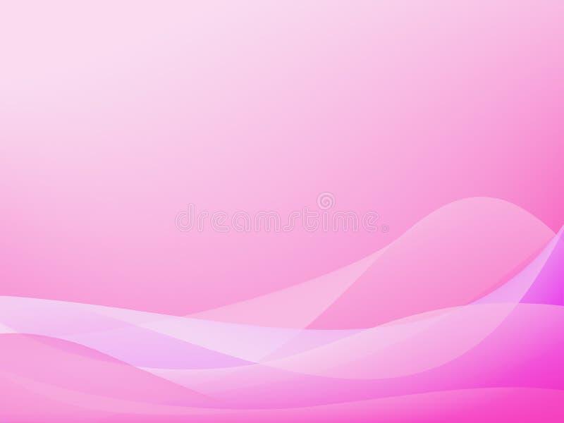 Roze achtergrond vector illustratie