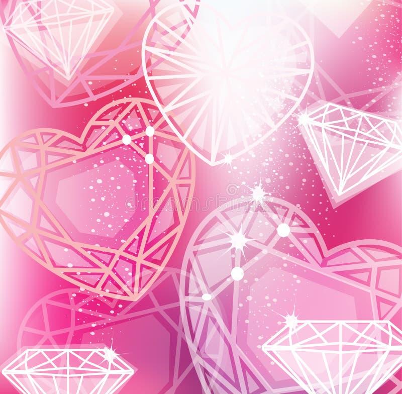 rosa diamanten vektorgrafik - photo #44