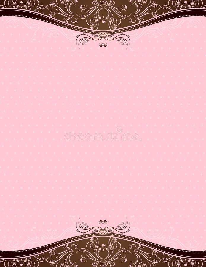 Roze achtergrond, vector vector illustratie