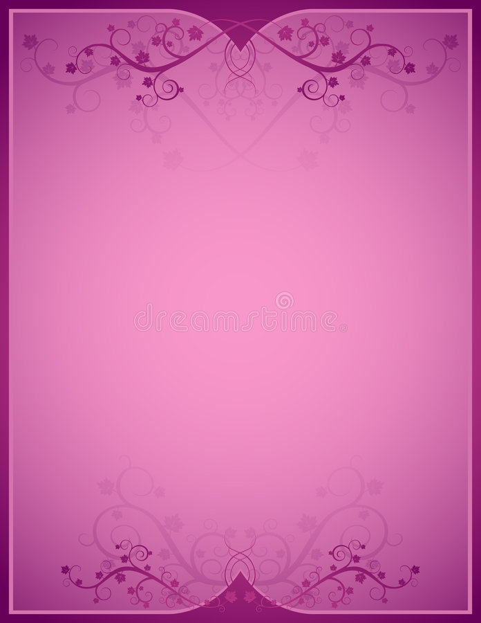 Roze achtergrond, vetor royalty-vrije illustratie