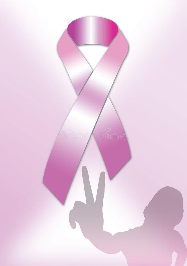 Roze Affiche 3 van het Lint royalty-vrije illustratie
