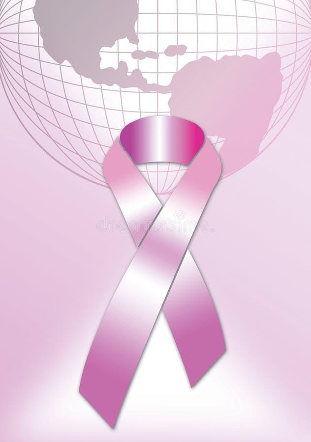 Roze Affiche 5 van het Lint vector illustratie