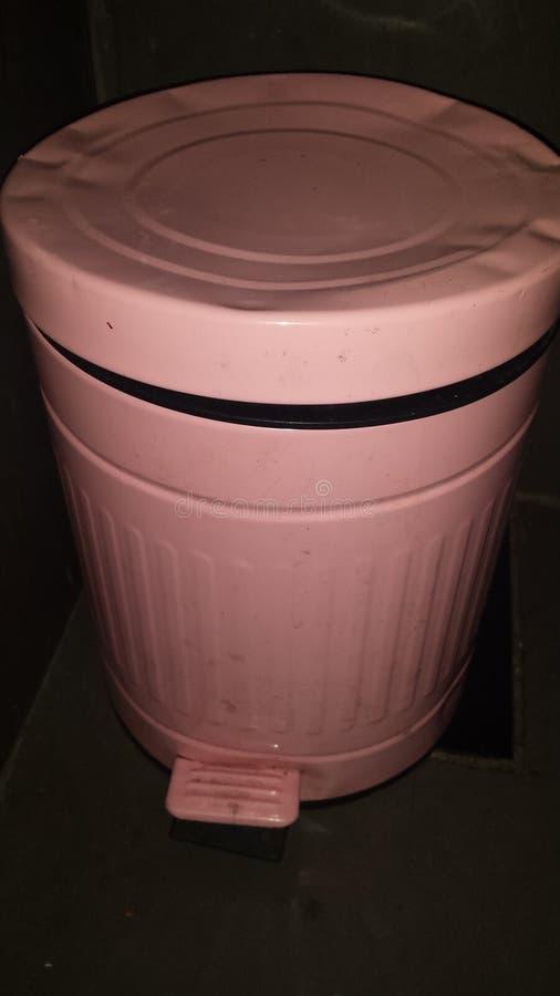 Roze afval stock foto's