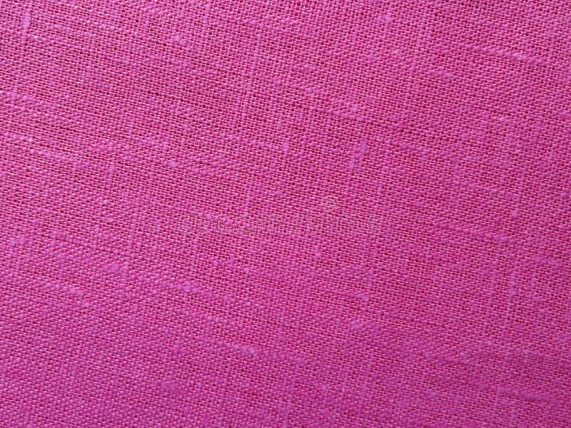 Roze backround - Linnencanvas stock foto