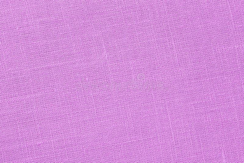 Roze backround - Linnencanvas - Voorraadfoto stock afbeelding