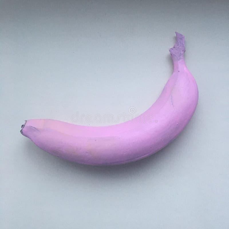 Roze banaan royalty-vrije stock afbeelding