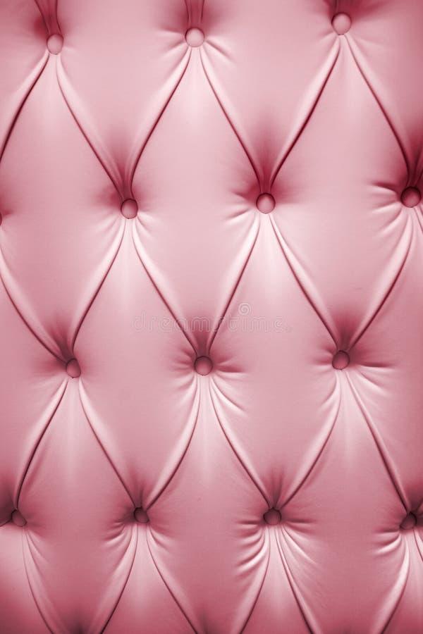 Roze beeld van echt leer stock foto