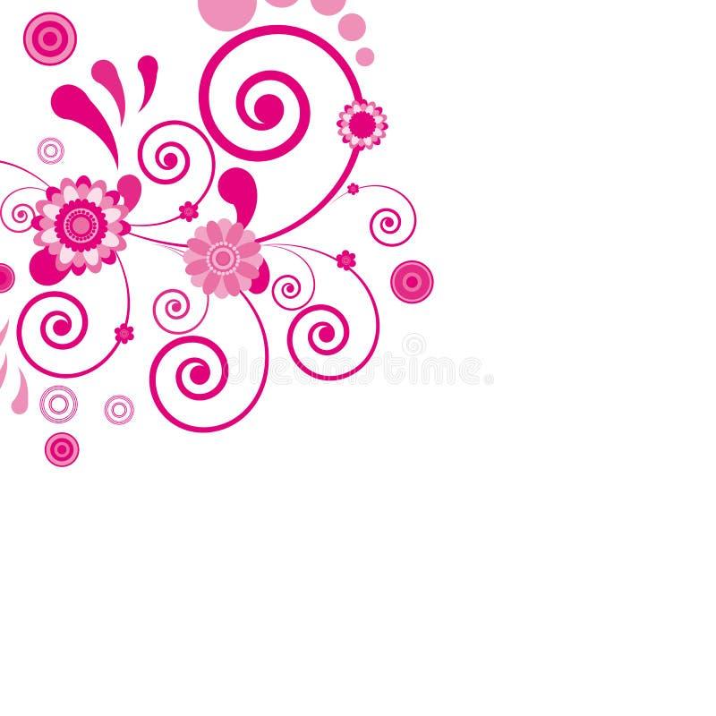 Roze bloem. Bloemen achtergrond.