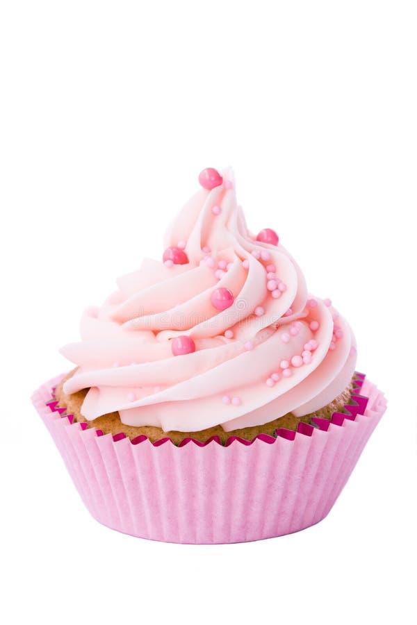 Roze cupcake stock foto