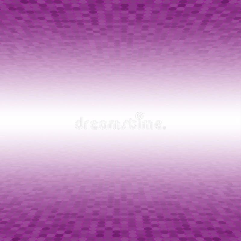 Roze de Cirkelachtergrond van de Mozaïektegel perspectief stock illustratie