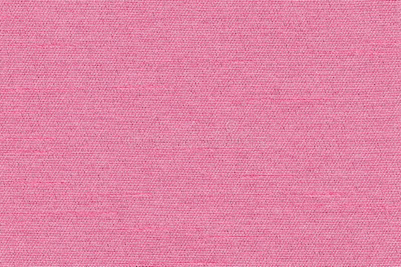 Roze de close-up nam de steekproeftextuur van de kleurenstof toe Het roze ontwerp van het de lijnpatroon van de Stoffenstrook, st royalty-vrije illustratie