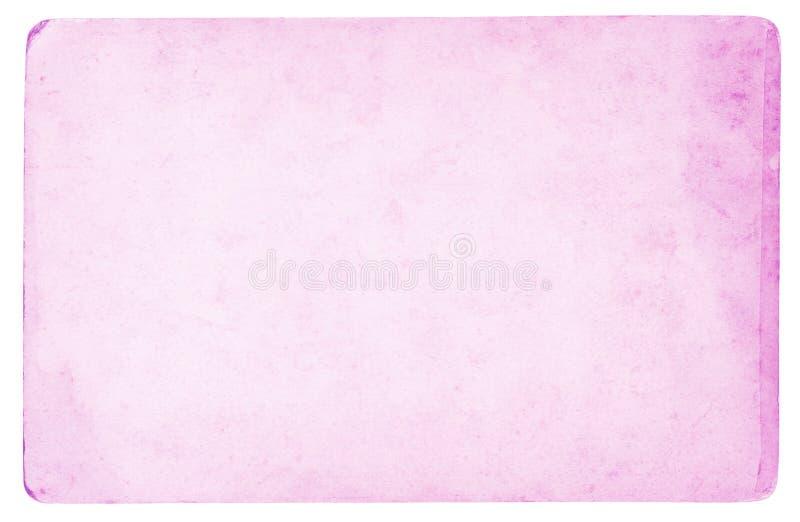 Roze document achtergrond - hoge resolutie royalty-vrije stock afbeelding