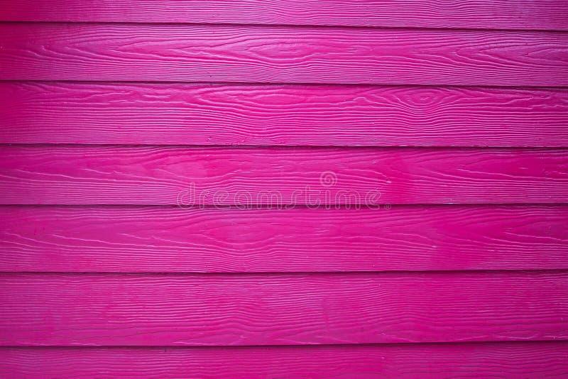 Roze Echte Houten Textuurachtergrond stock afbeelding