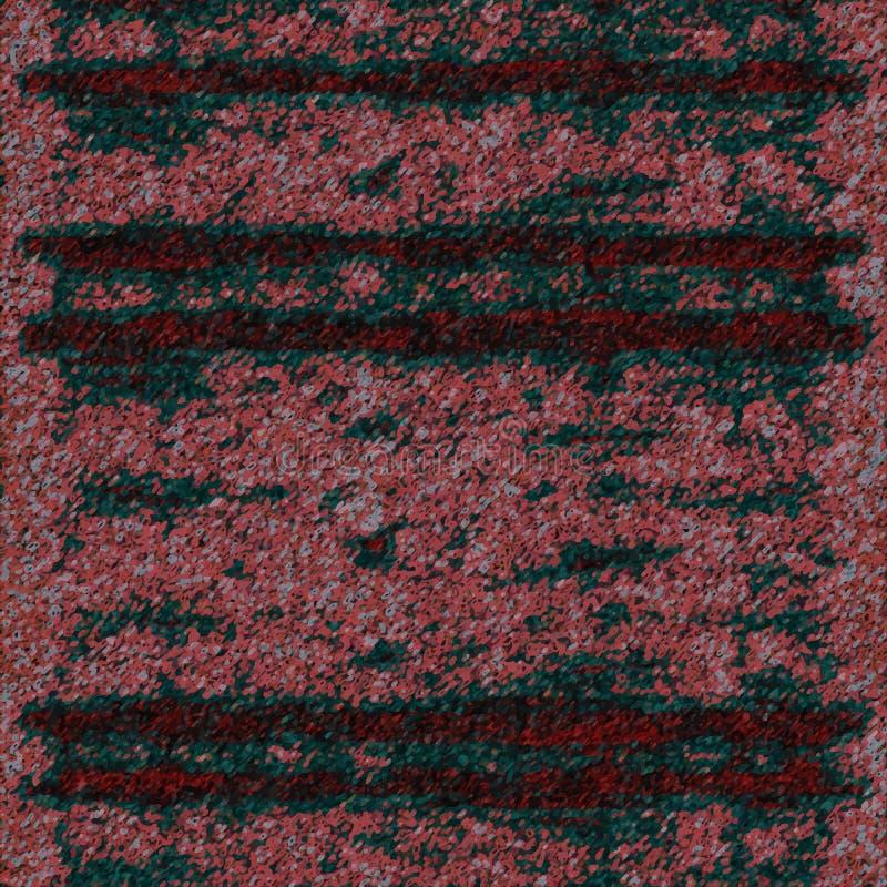 Roze en groen abstract beeld stock afbeeldingen