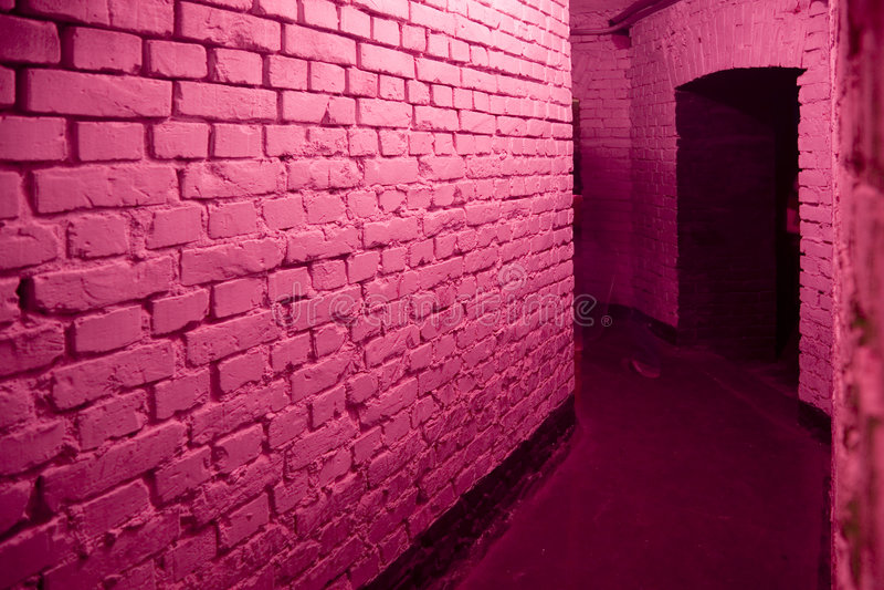 Roze gang stock foto