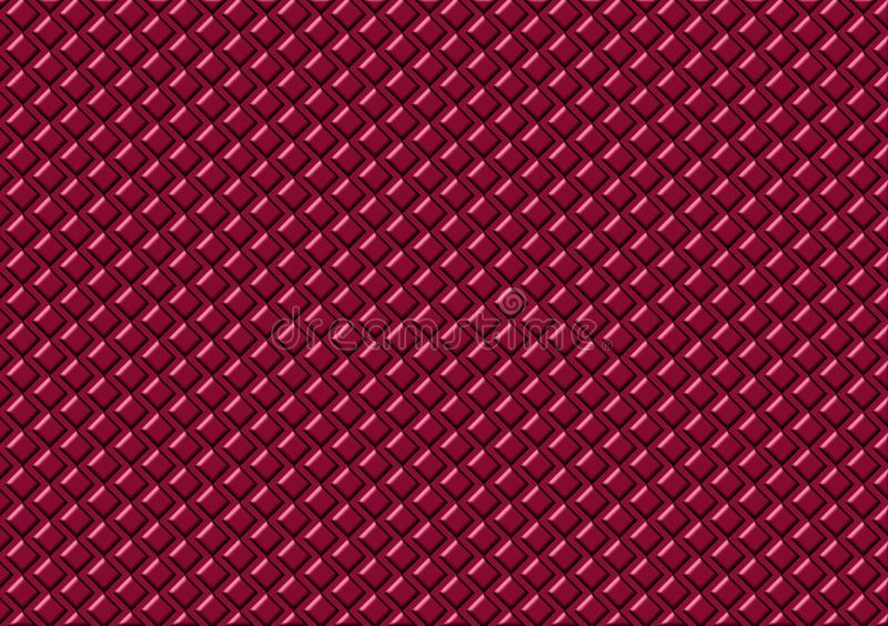Roze gekleurd patroon gecontroleerd behang royalty-vrije illustratie