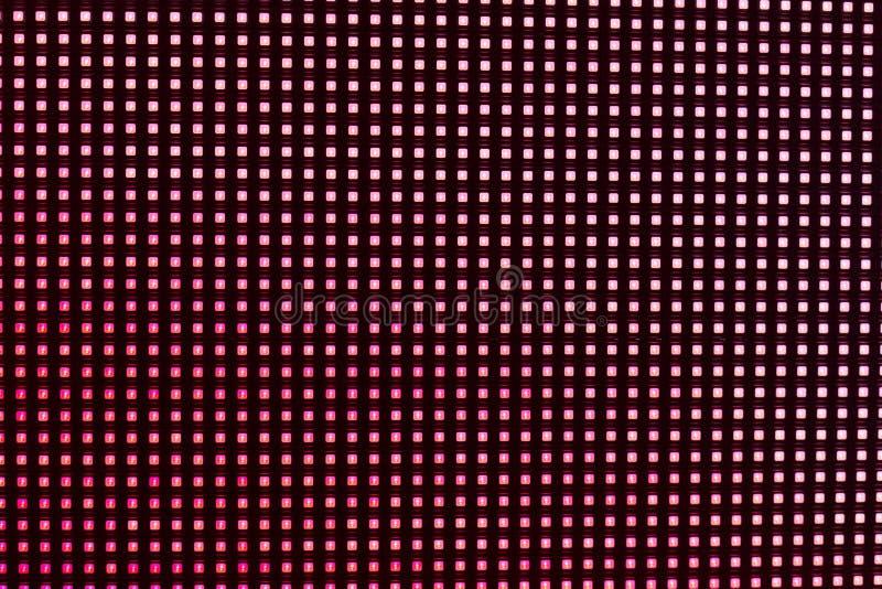 Roze gekleurde LEIDENE smd het schermachtergrond royalty-vrije stock afbeelding