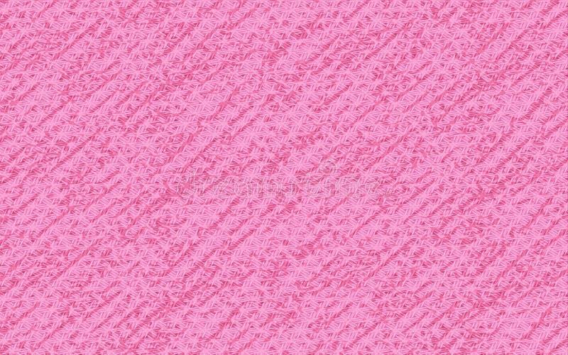 Roze geweven Achtergrond voor uw creatieve ontwerpen stock illustratie