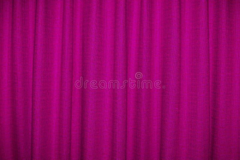 Roze Gordijn stock foto