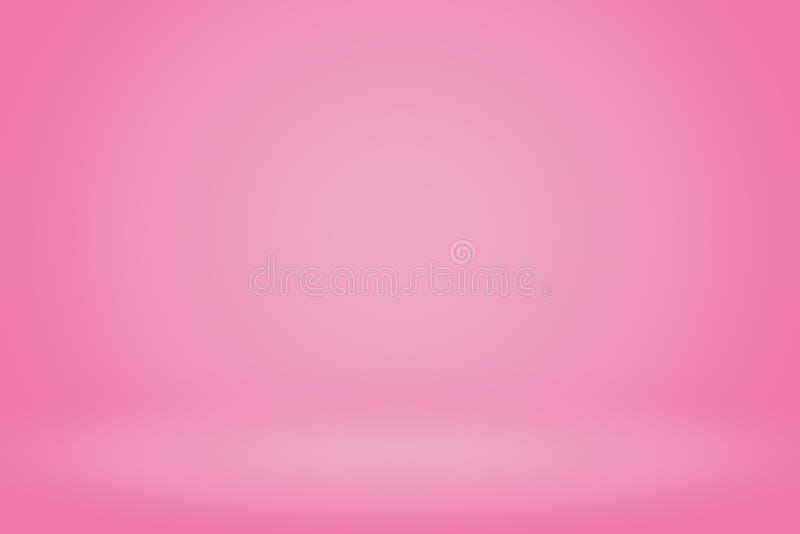 Roze gradiënt abstracte achtergrond stock illustratie