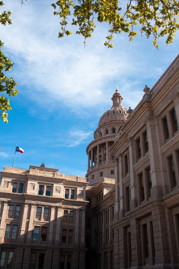 Roze Graniet Texas State Capitol Building in Austin royalty-vrije stock afbeelding