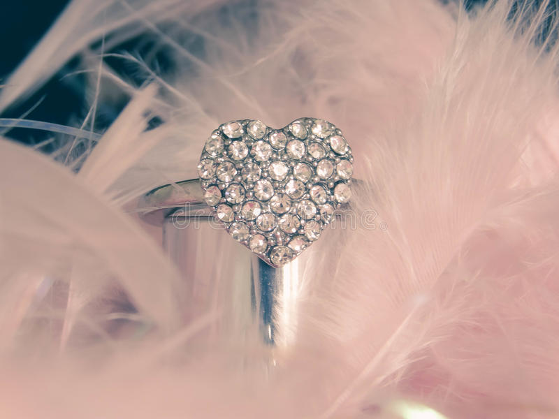 Roze hart royalty-vrije stock foto