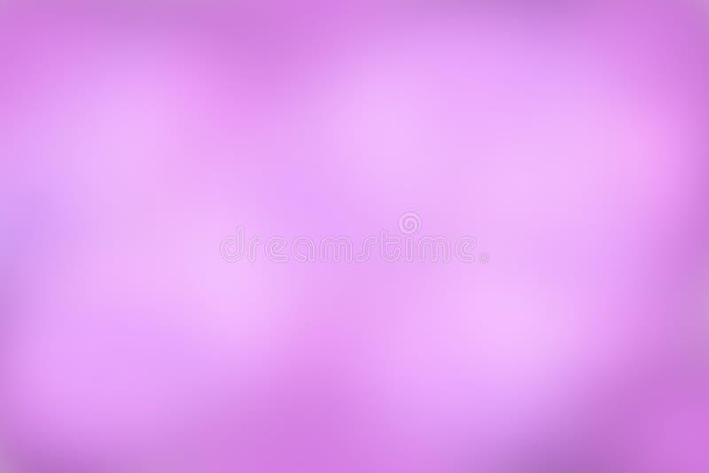 Roze hemelachtergrond, Abstract onduidelijk beeld royalty-vrije illustratie
