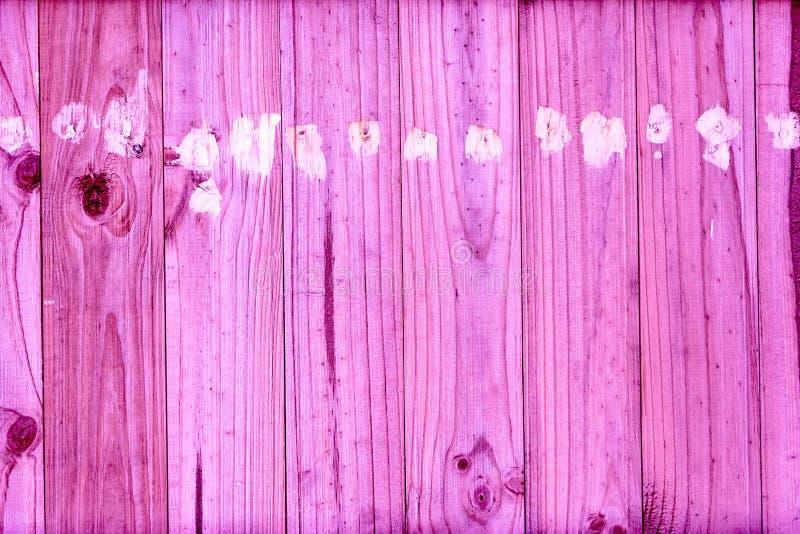 Roze houten achtergronden, uitstekend beeld stock afbeelding