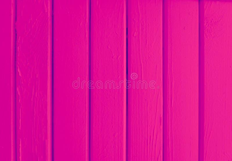 Roze houten van de planktextuur creatieve kleur als achtergrond royalty-vrije stock foto